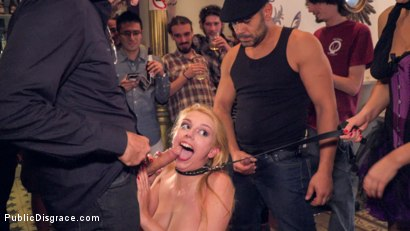 Photo number 17 from Gorgeous Anal Whore Gets Public DP!!! shot for Public Disgrace on Kink.com. Featuring Steve Holmes, Tina Kay, Antonio Ross and Daniela Dadivoso in hardcore BDSM & Fetish porn.