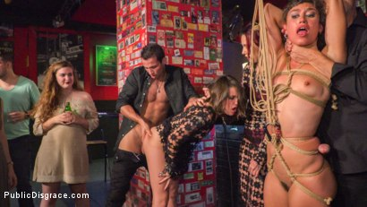 Photo number 10 from Alexa Nasha & Julia Roca - Walk of Shame shot for Public Disgrace on Kink.com. Featuring Steve Holmes, Alexa Nasha, Joel Tomas, Julia Roca and Silvia Rubi in hardcore BDSM & Fetish porn.