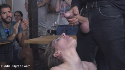 Photo number 19 from Demure Pain Slut Humiliated shot for Public Disgrace on Kink.com. Featuring Steve Holmes, Joel Tomas, Gemma Gomory and Silvia Rubi in hardcore BDSM & Fetish porn.