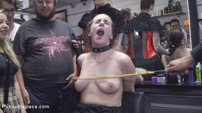 Photo number 19 from Spicy Submissive Spanish Slut shot for Public Disgrace on Kink.com. Featuring Steve Holmes, Juan Lucho, Silvia Rubi and Aragne Spicy in hardcore BDSM & Fetish porn.
