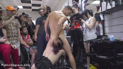Photo number 21 from Spicy Submissive Spanish Slut shot for Public Disgrace on Kink.com. Featuring Steve Holmes, Juan Lucho, Silvia Rubi and Aragne Spicy in hardcore BDSM & Fetish porn.