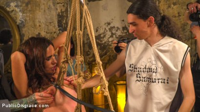 Photo number 11 from Pet Bitches Disgraced on Public Walk shot for Public Disgrace on Kink.com. Featuring Steve Holmes, Juan Lucho, Silvia Rubi, Lilith Optima, Ichi the Lorean  and Natalia Ruso in hardcore BDSM & Fetish porn.