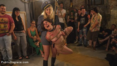 Photo number 1 from Pet Bitches Disgraced on Public Walk shot for Public Disgrace on Kink.com. Featuring Steve Holmes, Juan Lucho, Silvia Rubi, Lilith Optima, Ichi the Lorean  and Natalia Ruso in hardcore BDSM & Fetish porn.
