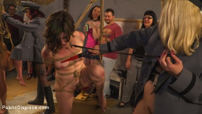 Photo number 10 from Pet Bitches Disgraced on Public Walk shot for Public Disgrace on Kink.com. Featuring Steve Holmes, Juan Lucho, Silvia Rubi, Lilith Optima, Ichi the Lorean  and Natalia Ruso in hardcore BDSM & Fetish porn.