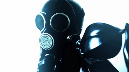 Photo number 13 from Girl In A Gasmask shot for Bleu Films on Kink.com. Featuring Dirty Dollbaby in hardcore BDSM & Fetish porn.