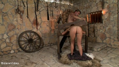 Photo number 4 from Sold Into Slavery: Debbie White and Choky Ice shot for Bizarre Video on Kink.com. Featuring  in hardcore BDSM & Fetish porn.