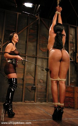 Photo number 3 from Sandra Romain and Candace Von shot for Whipped Ass on Kink.com. Featuring Sandra Romain and Candace Von in hardcore BDSM & Fetish porn.