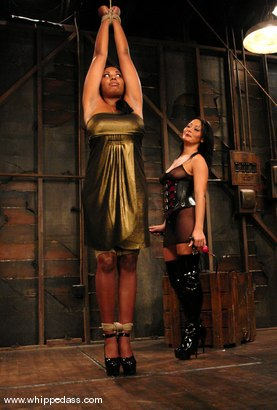 Photo number 1 from Sandra Romain and Candace Von shot for Whipped Ass on Kink.com. Featuring Sandra Romain and Candace Von in hardcore BDSM & Fetish porn.