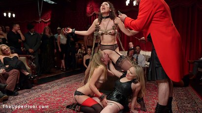 Photo number 19 from A Slave Orgy Like No Other shot for The Upper Floor on Kink.com. Featuring Aiden Starr, Lilith Luxe, Mona Wales, Mickey Mod, Marco Banderas, Bella Rossi and Kira Noir in hardcore BDSM & Fetish porn.