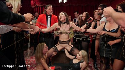 Photo number 20 from A Slave Orgy Like No Other shot for The Upper Floor on Kink.com. Featuring Aiden Starr, Lilith Luxe, Mona Wales, Mickey Mod, Marco Banderas, Bella Rossi and Kira Noir in hardcore BDSM & Fetish porn.