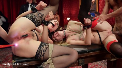 Photo number 27 from A Slave Orgy Like No Other shot for The Upper Floor on Kink.com. Featuring Aiden Starr, Lilith Luxe, Mona Wales, Mickey Mod, Marco Banderas, Bella Rossi and Kira Noir in hardcore BDSM & Fetish porn.