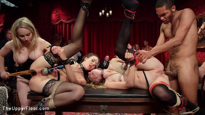 Photo number 28 from A Slave Orgy Like No Other shot for The Upper Floor on Kink.com. Featuring Aiden Starr, Lilith Luxe, Mona Wales, Mickey Mod, Marco Banderas, Bella Rossi and Kira Noir in hardcore BDSM & Fetish porn.