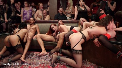 Photo number 29 from Slave Orgy Unchained shot for The Upper Floor on Kink.com. Featuring Aiden Starr, Lilith Luxe, Mona Wales, Mickey Mod, Marco Banderas, Bella Rossi and Kira Noir in hardcore BDSM & Fetish porn.