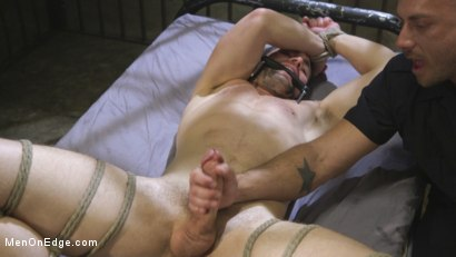 Photo number 13 from Horny Pervert Takes Some Rough Justice  shot for Men On Edge on Kink.com. Featuring Griffin Barrows in hardcore BDSM & Fetish porn.