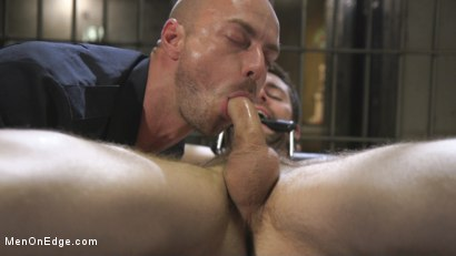 Photo number 8 from Horny Pervert Takes Some Rough Justice  shot for Men On Edge on Kink.com. Featuring Griffin Barrows in hardcore BDSM & Fetish porn.
