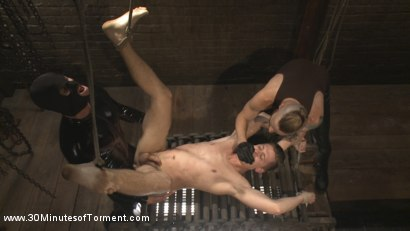 Photo number 13 from Tyler Rush - Beaten, Relentlessly Fucked and Made to Cum shot for 30 Minutes of Torment on Kink.com. Featuring Tyler Rush in hardcore BDSM & Fetish porn.