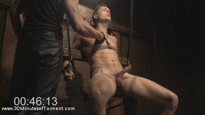 Photo number 1 from Tyler Rush - Beaten, Relentlessly Fucked and Made to Cum shot for 30 Minutes of Torment on Kink.com. Featuring Tyler Rush in hardcore BDSM & Fetish porn.