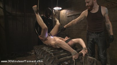 Photo number 11 from Tyler Rush - Beaten, Relentlessly Fucked and Made to Cum shot for 30 Minutes of Torment on Kink.com. Featuring Tyler Rush in hardcore BDSM & Fetish porn.
