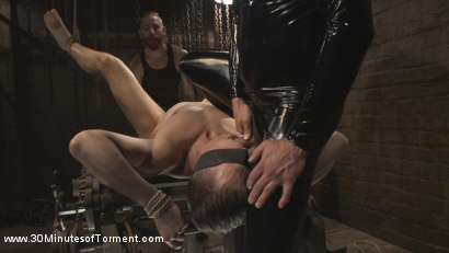 Photo number 9 from Tyler Rush - Beaten, Relentlessly Fucked and Made to Cum shot for 30 Minutes of Torment on Kink.com. Featuring Tyler Rush in hardcore BDSM & Fetish porn.