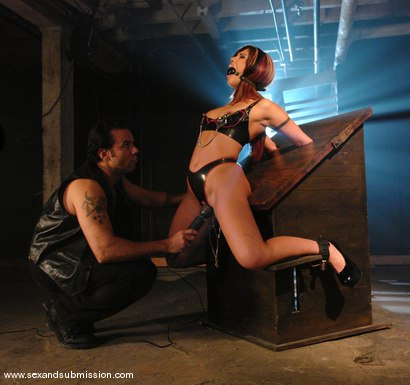 Photo number 2 from Satine Phoenix shot for Sex And Submission on Kink.com. Featuring Satine Phoenix and Steven St. Croix in hardcore BDSM & Fetish porn.