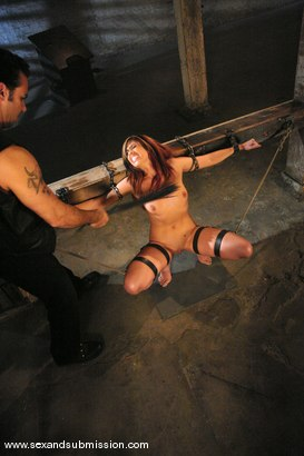 Photo number 5 from Satine Phoenix shot for Sex And Submission on Kink.com. Featuring Satine Phoenix and Steven St. Croix in hardcore BDSM & Fetish porn.
