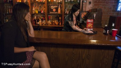 Photo number 2 from Strangers in the night. TS Tori Mayes has a one night stand  shot for TS Pussy Hunters on Kink.com. Featuring Nikki Hearts and Tori Mayes in hardcore BDSM & Fetish porn.