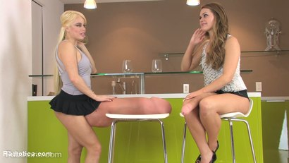 Photo number 1 from Girls Dating Just for Dick: Becky Bazooka and Pamela Penisaurus shot for Radrotica on Kink.com. Featuring Nikki Delano and Abby Cross in hardcore BDSM & Fetish porn.