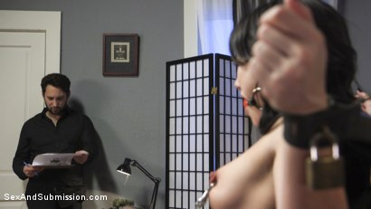 Photo number 7 from Air BnD Nightmare! shot for Sex And Submission on Kink.com. Featuring Tommy Pistol and Jennifer White in hardcore BDSM & Fetish porn.