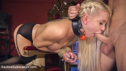 Photo number 14 from Dear Mistress... shot for Sex And Submission on Kink.com. Featuring Seth Gamble and Kenzie Taylor in hardcore BDSM & Fetish porn.