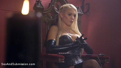 Photo number 6 from Dear Mistress... shot for Sex And Submission on Kink.com. Featuring Seth Gamble and Kenzie Taylor in hardcore BDSM & Fetish porn.