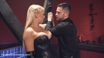 Photo number 7 from Dear Mistress... shot for Sex And Submission on Kink.com. Featuring Seth Gamble and Kenzie Taylor in hardcore BDSM & Fetish porn.