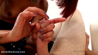 Photo number 12 from StrapDomme: Skin Diamond and Wolf Hudson shot for Deviant Hardcore on Kink.com. Featuring Skin Diamond and Wolf Hudson in hardcore BDSM & Fetish porn.