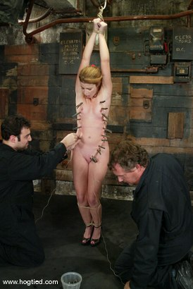 Photo number 3 from Sarah Blake shot for Hogtied on Kink.com. Featuring Sarah Blake in hardcore BDSM & Fetish porn.