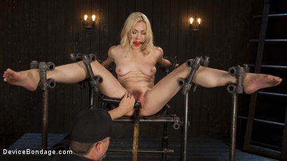 Photo number 11 from A Sadists Dream Come True shot for Device Bondage on Kink.com. Featuring Lily LaBeau and The Pope in hardcore BDSM & Fetish porn.