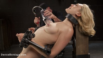 Photo number 12 from A Sadists Dream Come True shot for Device Bondage on Kink.com. Featuring Lily LaBeau and The Pope in hardcore BDSM & Fetish porn.