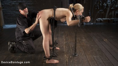 Photo number 15 from A Sadists Dream Come True shot for Device Bondage on Kink.com. Featuring Lily LaBeau and The Pope in hardcore BDSM & Fetish porn.