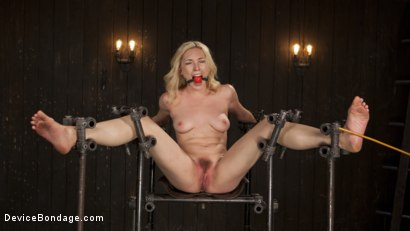 Photo number 4 from A Sadists Dream Come True shot for Device Bondage on Kink.com. Featuring Lily LaBeau and The Pope in hardcore BDSM & Fetish porn.