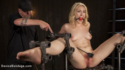 Photo number 1 from A Sadists Dream Come True shot for Device Bondage on Kink.com. Featuring Lily LaBeau and The Pope in hardcore BDSM & Fetish porn.