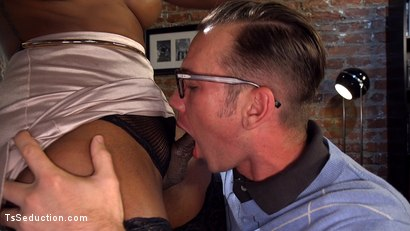 Photo number 20 from Will Havoc Has Every Hole & Dream Satisfied by Sexy Black Cock shot for TS Seduction on Kink.com. Featuring Natassia Dreams and Will Havoc in hardcore BDSM & Fetish porn.