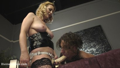 Photo number 18 from Husband Shaming: An Anal Attitude Adjustment shot for Divine Bitches on Kink.com. Featuring Cherry Torn and Ruckus in hardcore BDSM & Fetish porn.