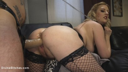 Photo number 22 from Husband Shaming: An Anal Attitude Adjustment shot for Divine Bitches on Kink.com. Featuring Cherry Torn and Ruckus in hardcore BDSM & Fetish porn.