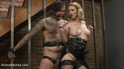 Photo number 25 from Husband Shaming: An Anal Attitude Adjustment shot for Divine Bitches on Kink.com. Featuring Cherry Torn and Ruckus in hardcore BDSM & Fetish porn.