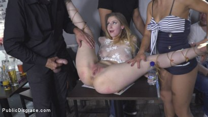 Photo number 19 from All Natural Busty Brunette Anal Slut First Time DP on Public Disgrace! shot for Public Disgrace on Kink.com. Featuring Steve Holmes, Antonio Ross, Nikki Thorne and Stella Cox in hardcore BDSM & Fetish porn.