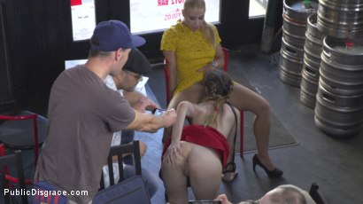 Photo number 14 from Busty Stella Cox Loves Getting Fucked In Public shot for Public Disgrace on Kink.com. Featuring Steve Holmes, Stella Cox , Nikki Thorne and Antonio Ross in hardcore BDSM & Fetish porn.