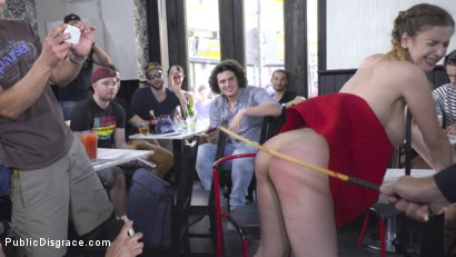 Photo number 18 from Busty Stella Cox Loves Getting Fucked In Public shot for Public Disgrace on Kink.com. Featuring Steve Holmes, Stella Cox , Nikki Thorne and Antonio Ross in hardcore BDSM & Fetish porn.