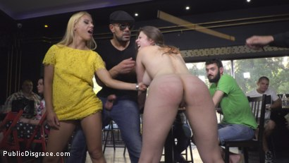 Photo number 10 from Hungary for Lucia Love shot for Public Disgrace on Kink.com. Featuring Steve Holmes, Amirah Adara, Antonio Ross, Lucia Love and Nikki Thorne in hardcore BDSM & Fetish porn.