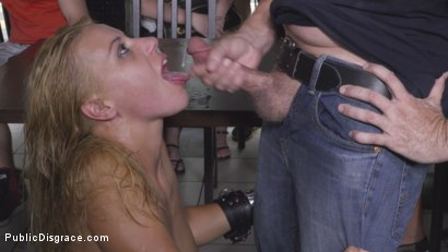 Photo number 36 from Nikki Thorne Rammed in Public  shot for Public Disgrace on Kink.com. Featuring Steve Holmes, Nikki Thorne, RAM and Tina Kay in hardcore BDSM & Fetish porn.