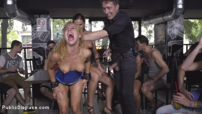 Photo number 33 from Nikki Thorne Rammed in Public  shot for Public Disgrace on Kink.com. Featuring Steve Holmes, Nikki Thorne, RAM and Tina Kay in hardcore BDSM & Fetish porn.