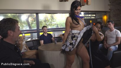 Photo number 11 from Nervous Newbie Naomi Gets Fucked in her Neighborhood shot for Public Disgrace on Kink.com. Featuring Steve Holmes, Sandra Romain, RAM and Naomi in hardcore BDSM & Fetish porn.