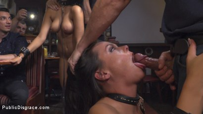 Photo number 23 from Best Fucking Friends  shot for Public Disgrace on Kink.com. Featuring Steve Holmes, Angelina Wild, Nasty Khalifa and RAM in hardcore BDSM & Fetish porn.
